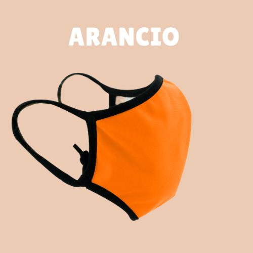 Mascherina BeFree Arancio