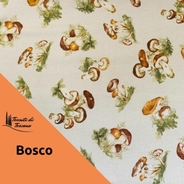 Tovaglia antimacchia decoro Bosco