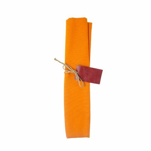 Canovaccio in cotone Arancio
