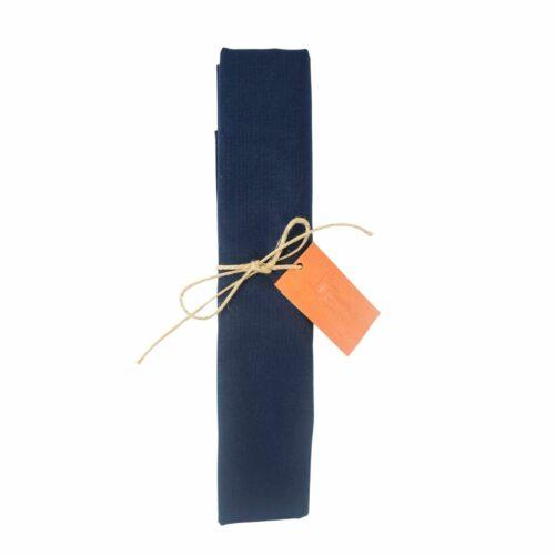 Canovaccio in cotone Blu Navy