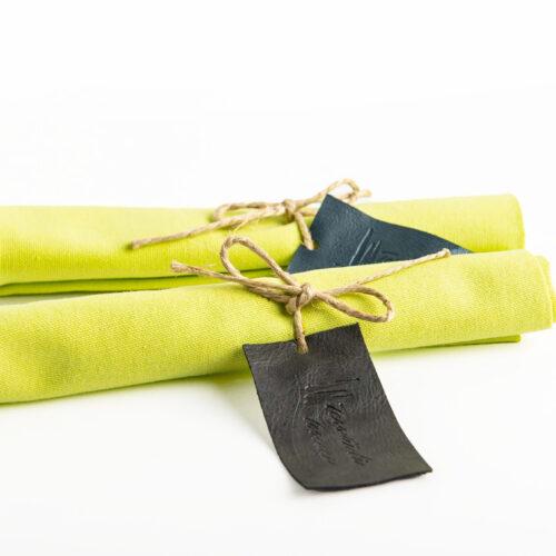 Tovagliolo in cotone, Verde Chiaro